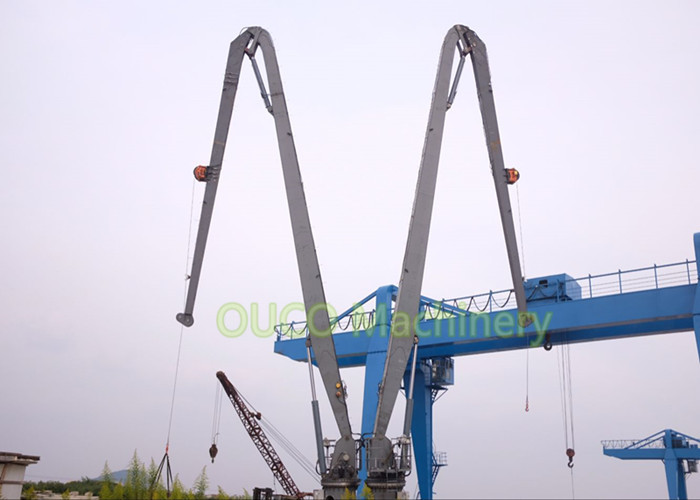 Marine Knuckle Boom Crane 1T 30M Reliable Excellent Positioning Performance