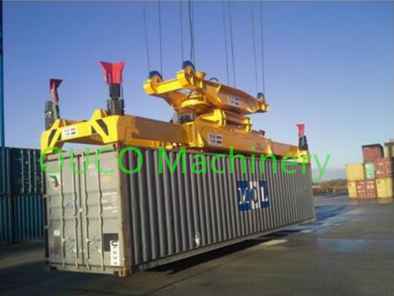 Full - Auto Container Lifting Spreader Bar With Robust Reliable Telescopic System